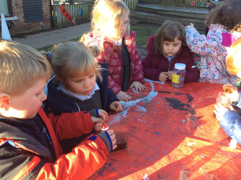 Mixing Magical Potions | Sharow Primary School