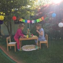 Beatrix and Millie's Tree Party